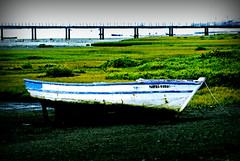 Boat ashore. (gilxxl) Tags: portugal barco sony ponte algarve riaformosa olho dockbay dslra100 vividstriking mygearandme mygearandmepremium gilbertooliveira gilxxl