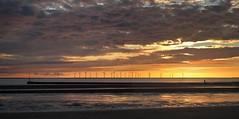34|52 - Sunset (McCann Photography) Tags: uk sunset england beach clouds evening coast landscapes august windmills coastal 2012 crosby merseyside sefton merseysunset giveusyourbestshot 522012week34