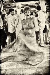 Galia (big andrei) Tags: leica bw sepia groom dancing grain mother compact dlux4