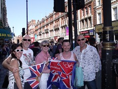 shaftsbury ave Torch relay (Scott2011) Tags: london history muscle olympics london2012 andrewyoung paullong scottcunnington colinstubbs