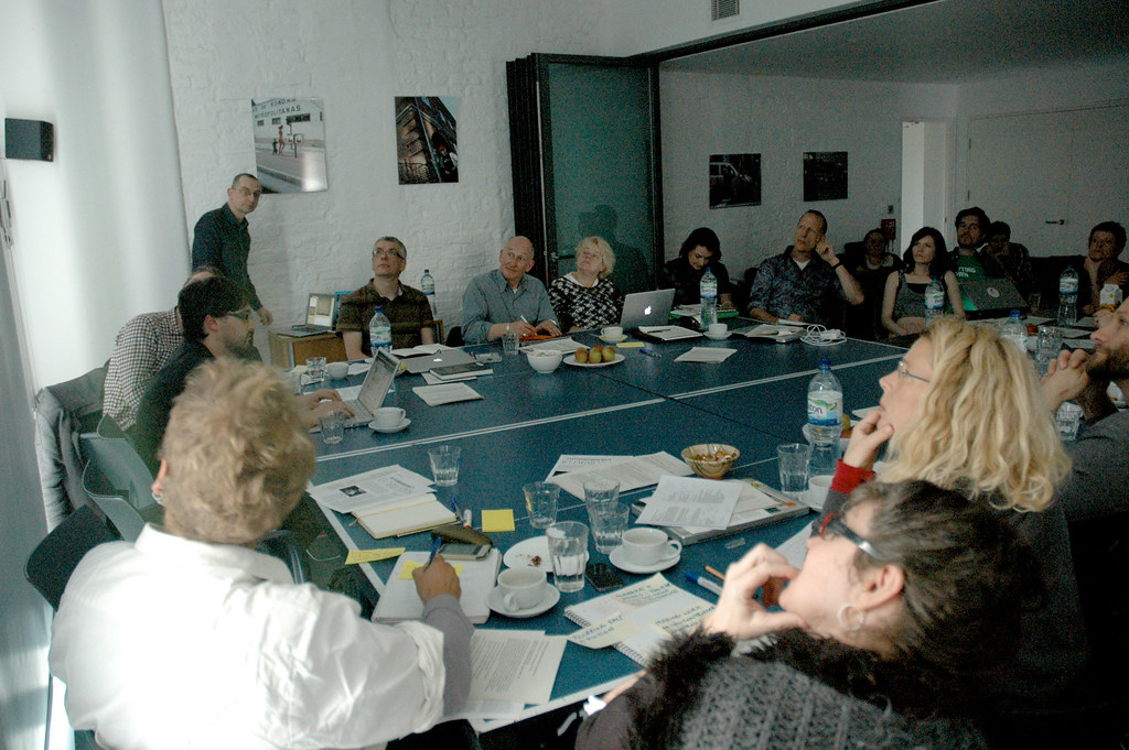 Act Otherwise participants at 20 Wellington Road, 2012