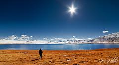 Once Upon A Time In Deosai (SMBukhari) Tags: pakistan sunlight lake snow mountains snowy areas plains northern sparkling sunstar deosai skardu baltistan pleatue sheosar sheosarlake deosaiplains syedmehdibukhari smbukhari deepblurwater