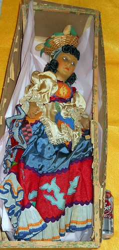 Mariposa Bahiana Doll in box