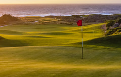 #2 green at Spanish Bay, at sunset (jrodmanjr) Tags: california beach golf monterey pebble golfcourse pebblebeach montereypeninsula
