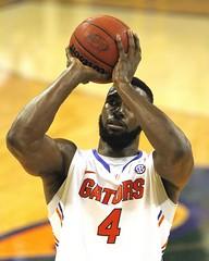 Patric Young made Free Throw, Gators Win 71-66 (dbadair) Tags: basketball war university eagle florida gators auburn tigers sec uf 2014