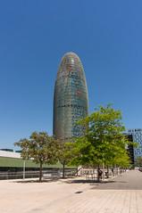 Buildings Bcn-4 (dACE :)) Tags: barcelona espaa architecture buildings arquitectura edificios edificio catalunya es carrers agbar skycraper rascacielos gratacels edificis