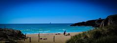 DSC_0135-2 (FlipperOo) Tags: voyage sea mer france color st rock port de nikon pierre vagues plage morbihan blanc roche arche quiberon instagramapp