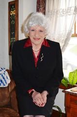 The Woman That Was Always A Part Of Me (Laurette Victoria) Tags: woman lady female silver suit laurette laurettemcgovern