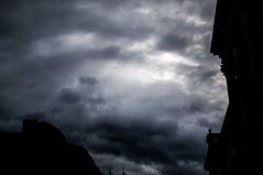 Stormcoming (Vldu Nicolae) Tags: old sky storm town bucharest cer vechi furtuna centrul