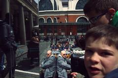 Faces 2 (Che-burashka) Tags: street boy people reflection london mirror close candid omd em5
