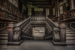 Eat the Rich (darkophoto.com) Tags: castle abandoned stairs palace mansion darkophotocom