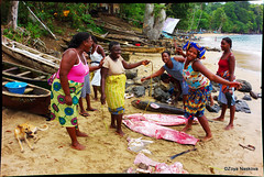 Santana Women (Fursa) Tags: africa portrait fish fishing women santana sao tome principe zoyanaskova