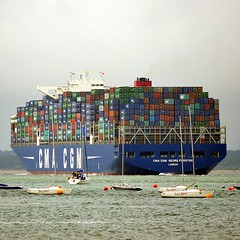 CMA CGM Georg Forster (medmondo66) Tags: container boxes containership cmacgm