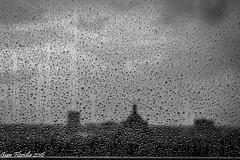 It's a hard rain that's gonna fall... (Gian Floridia) Tags: window glass silhouette clouds drops nuvole milano finestra raindrops hdr vetro temporale bienne hardrain chenoia chebarba allertameteo