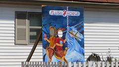 plush horse (timp37) Tags: park horse ice sign shop cutout illinois cream plush april palos 2016
