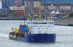 UKD-Marlin-A-20-May-2016 (Steve Ellwood Whitley Bay) Tags: imo ellwood dredger northshields northeastengland portoftyne ukdmarlin steveellwood westernquay humbermarlin callsignmsbk2 mmsinumber232001610