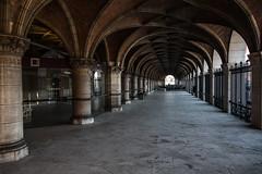 Central Library of the Catholic University of Leuven (Bon Espoir Photography) Tags: leuven architecture belgium library arches pillars universitylibrary catholicuniversityofleuven louvrain nikond750