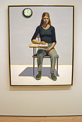 Student, by Wayne Thiebaud (JB by the Sea) Tags: sanfrancisco california painting sfmoma financialdistrict waynethiebaud sanfranciscomuseumofmodernart june2016