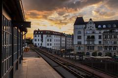Sunset in Berlin (Infomastern) Tags: sunset sky cloud building berlin germany deutschland tyskland dysk skymning byggnad