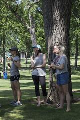 Hanging in the Park (Blend Interactive) Tags: southdakota horseshoes siouxfalls mckennanpark mandatoryfun blendinteractive