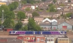 Northern Rail APU on Way To Selby (Gary Chatterton 3 million Views Thank You All) Tags: train outside track rail railway choo