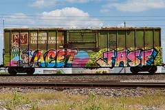 (o texano) Tags: bench graffiti texas houston trains tko freights benching acet jasf