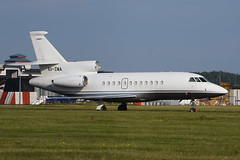 EI-ZMA.GLA040616 (MarkP51) Tags: eizma dassault falcon 900ex easy bizjet corporatejet glasgow airport gla egpf scotland aviation aircraft airplane plane image markp51 nikon d7200