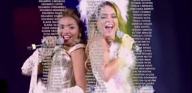 Globo entra para o Guinness Book por exibir 11 mil nomes em 4 minutos