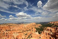 Bryce Canyon (Steve Major) Tags: sky terrain usa cloud mountain rock skyline clouds landscape utah rocks outdoor canyon brycecanyon sigma1020 stevemajor canon60d
