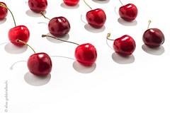 Cherry on white (Elisa Gabbrielleschi) Tags: nikon d7100 stilllife cherry red onwhite elisagabbrielleschi hello helloelisagabriel