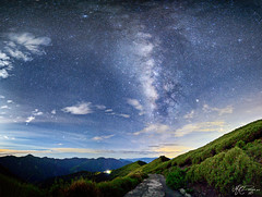 _ (M.K. Design) Tags: road longexposure travel mountains outdoors star nikon taiwan panoramic galaxy     ultrawide hualien hdr     starrynight milkyway   nantou  renai  2016  wuling        nightimage hehuanshan   mainpeak       mthehuan   mkdesign  tarokogorgenationalpark 14 d800e mosonkuo  mk