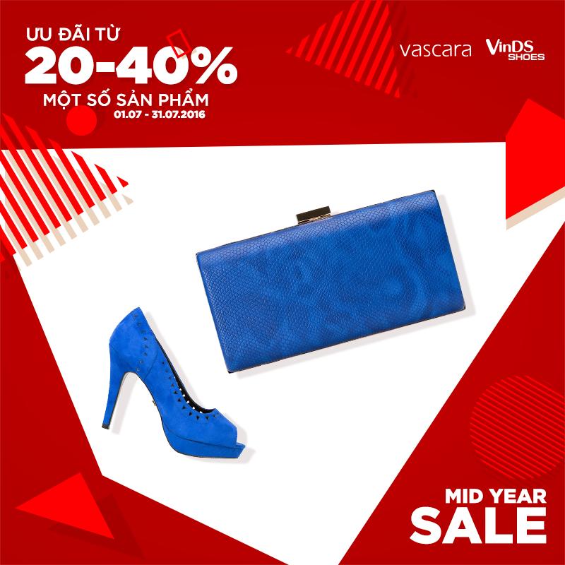 Vascara Vincom - Mid Year Sale- Ưu đãi 20 - 40% Một Số Sản Phẩm