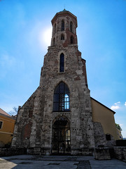 Mria Magdolena Templom (paulcrawford82) Tags: building tower church architecture ruins mary budapest magdalene