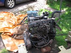 IMG_0443 Land Rover 2.25 Diesel Engine (robsue888) Tags: landrover merseyside series3 225diesel