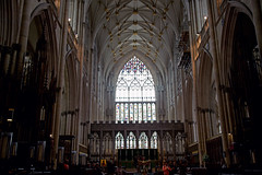 York Minster - North Aisle of the quire and high alter (LostnSpace2011 - Slowly catching up) Tags: york cathedral yorkminster minster jorvik