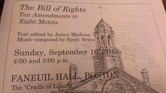 Faneuil Hall, Bill of Rights program (YouthJournalism.org) Tags: neelybruce yji boston 2012 fanueilhall billofrights