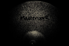 Masterworks cymbal (Jonathan Price1) Tags: monochrome blackbackground dark 50mm prime blackwhite lowlight moody hammered arty ride natural handmade creative unfinished drummer lowkey turkish cymbal masterworks