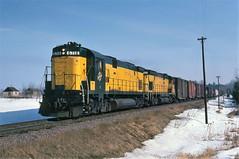 6718 Green Bay Bound (ac1756) Tags: michigan wallace northwestern alco cnw 6718 c628
