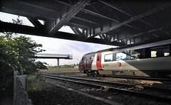 Small Heath Bridge. (geoff7918) Tags: reading gwr lms 220034 0601sheffield smallheathyards