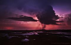 Electricity (Matt Grans Photography) Tags: cloud storm oklahoma weather night cg nikon long exposure hwy lightning ok thunder severe guymon d90