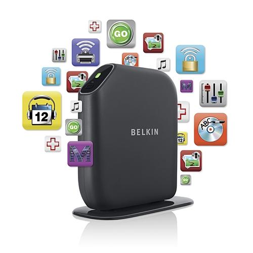 再将$13:Belkin Play N600贝尔金酷玩版 宽带无线双频路由器F7D4301zh $59.23,超值
