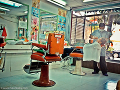Hair Cut Shop ( www.nikonbaby.com) Tags: camera baby apple thailand photography blog nikon shots great take plus service easy hdr carry 4s ais iphone useful provider iphone4 wwwnikonbabycom iphone4s