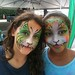 face painting earth dance