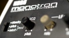 monotron (Flxzr) Tags: macro synth korg analogue synthesizer vco monotron