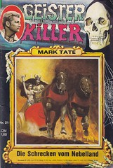 Geister Killer 21 (micky the pixel) Tags: horror pulp walkre streitwagen groschenroman dimenovels groschenheft kelterverlag gruselroman marktate geisterkiller dieschreckenvomnebelland