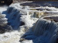 Narva Waterfall (Axiraa - back soon) Tags: water river spring europe estonia baltic falls baltics estland viro estonie ivangorod   narvakosk narvawaterfall