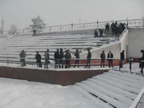 Последствия снегопада в Курган-тюбе (3)