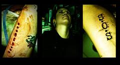 S.O.S (Ranyuz) Tags: tattoo pain mujer ritual sos escarificacion