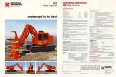 628 buncher1988 english (The Koehring Guy) Tags: hot saw track 628 head feller 618 620 tracked waterous 625 timberjack buncher koehring
