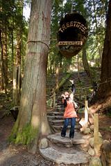 Treetop Adventures (boingyman.) Tags: park bridge trees vancouver canon bc capilano 1022 capilanosuspensionbridge t2i boingyman